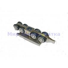 8102В Медио ролики д/разд-ых дв. до 100 кг. (8 колес.)
