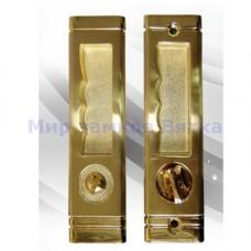 Ozeli РН203-GP/PNI-BK золото/мат.никель фикс. защелка