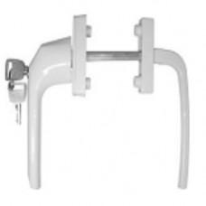 Балконный нажимной гарнитур с ключом (V)