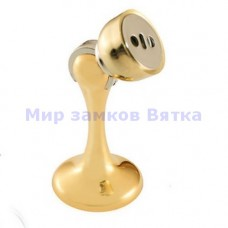 102 золото ограничитель дверной с магнитом