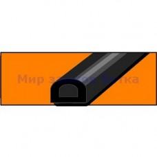 PROFITRAST PS-54 12*10мм (черный) 1м!! уплотнитель